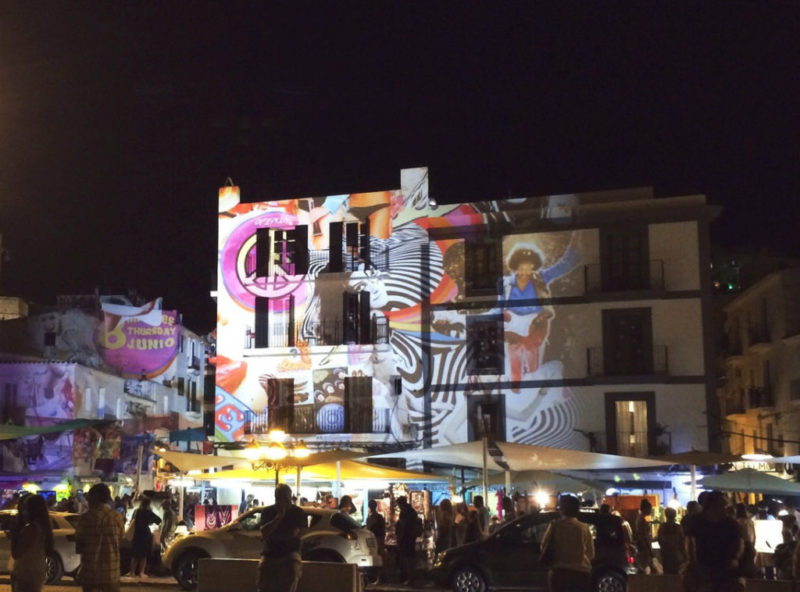 Ibiza in June - town