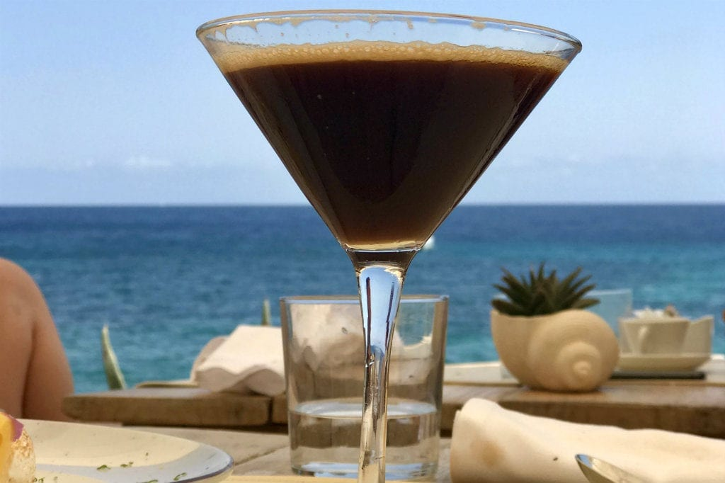 Expresso Martini at Amante Ibiza