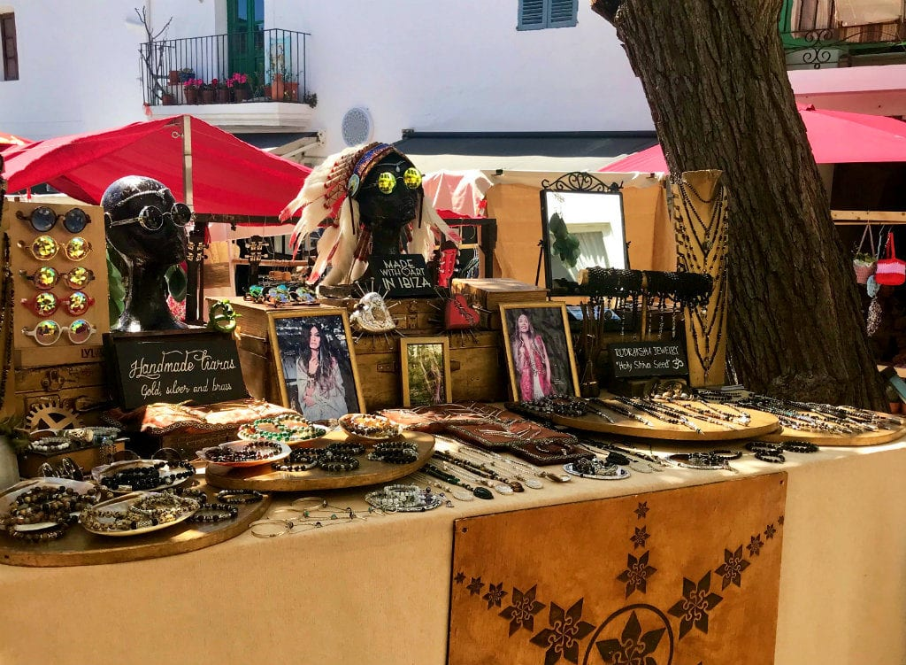Ibiza in July markets