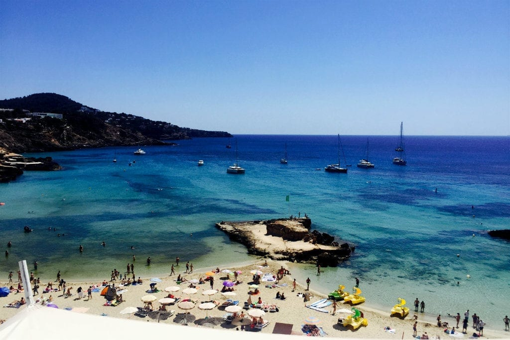 Ibiza in August - Best Beaches