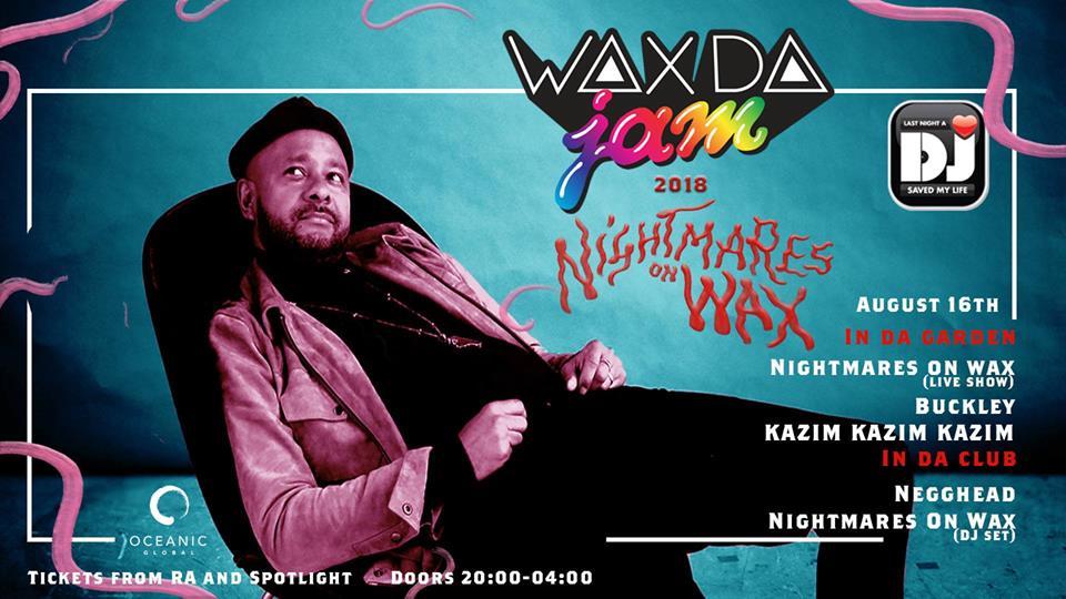 Ibiza in August wax da Jam