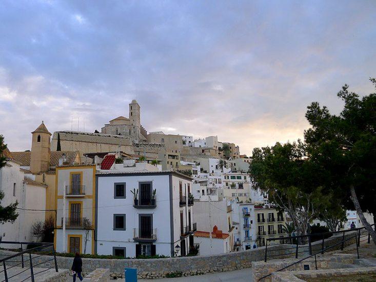 February in Ibiza cathedral dalt villa