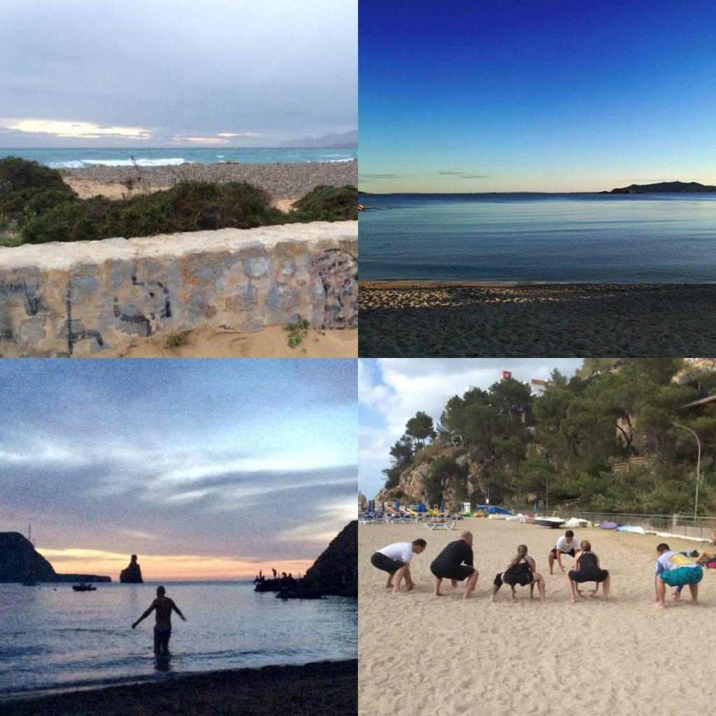 February in Ibiza beaches