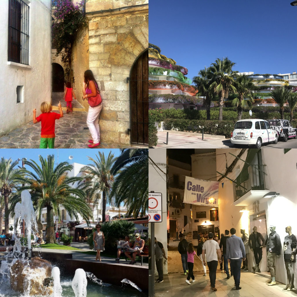Ibiza in February towns