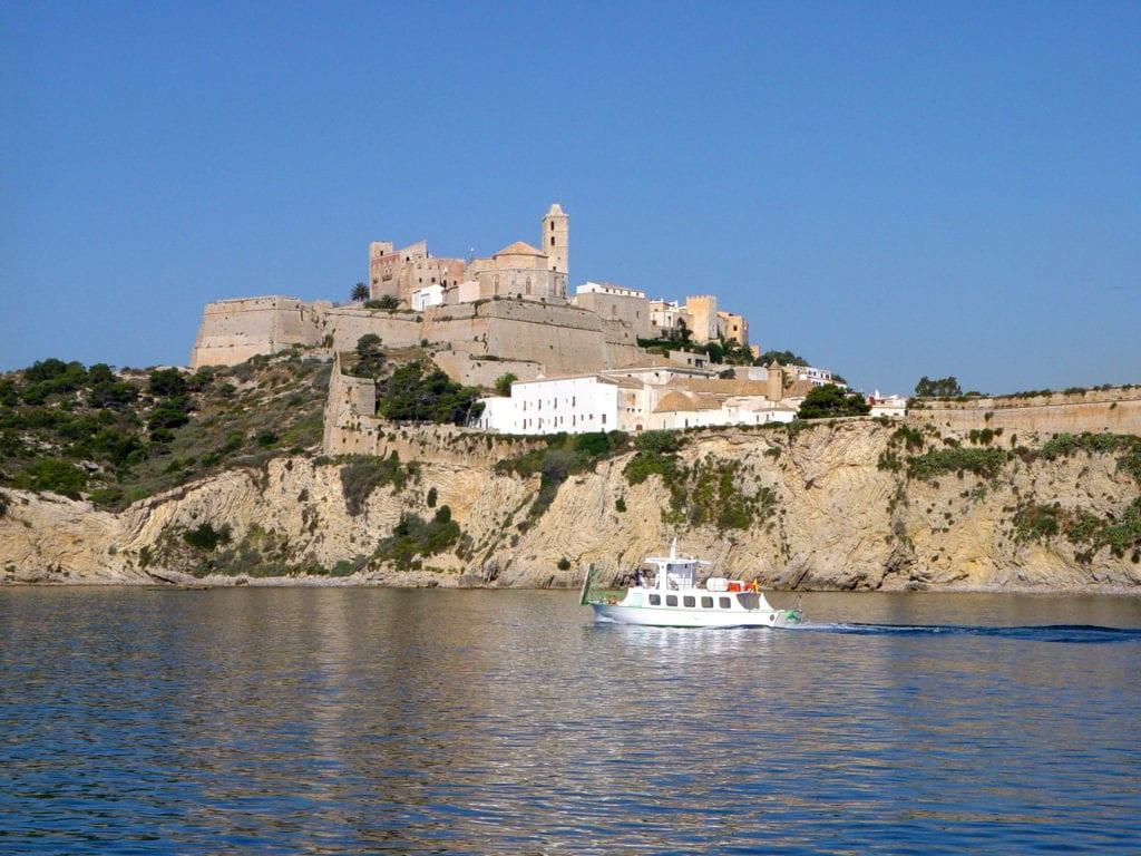 February in Ibiza Dalt vila