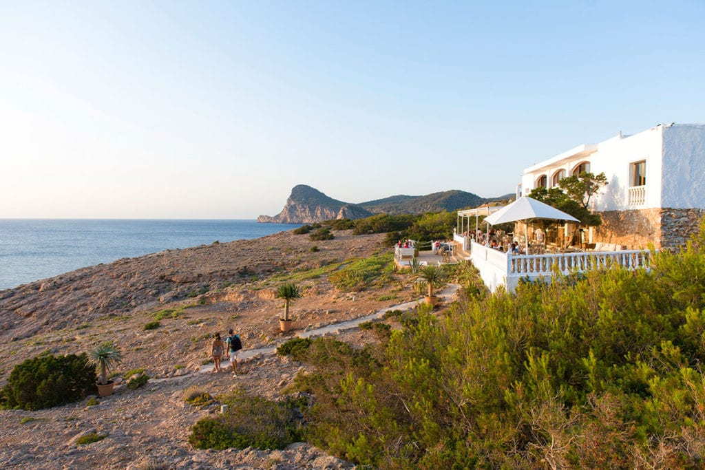 February in Ibiza dining out