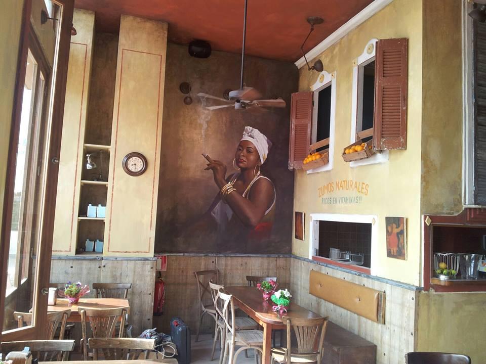 Ibiza in March Ritas Cantina