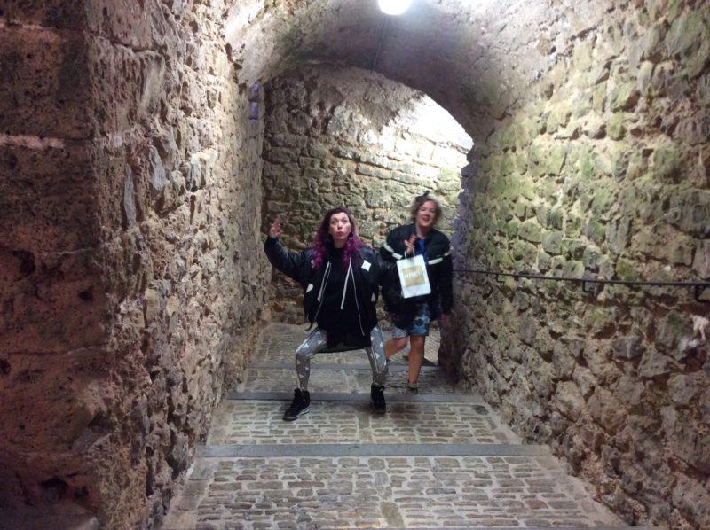 Exploring dalt vila in Ibiza in April