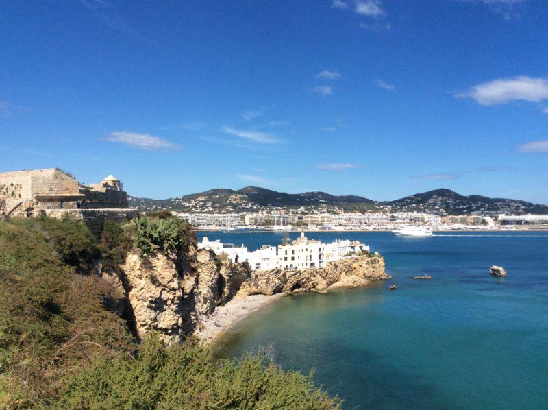 One view from dalt vila - Ibiza in April