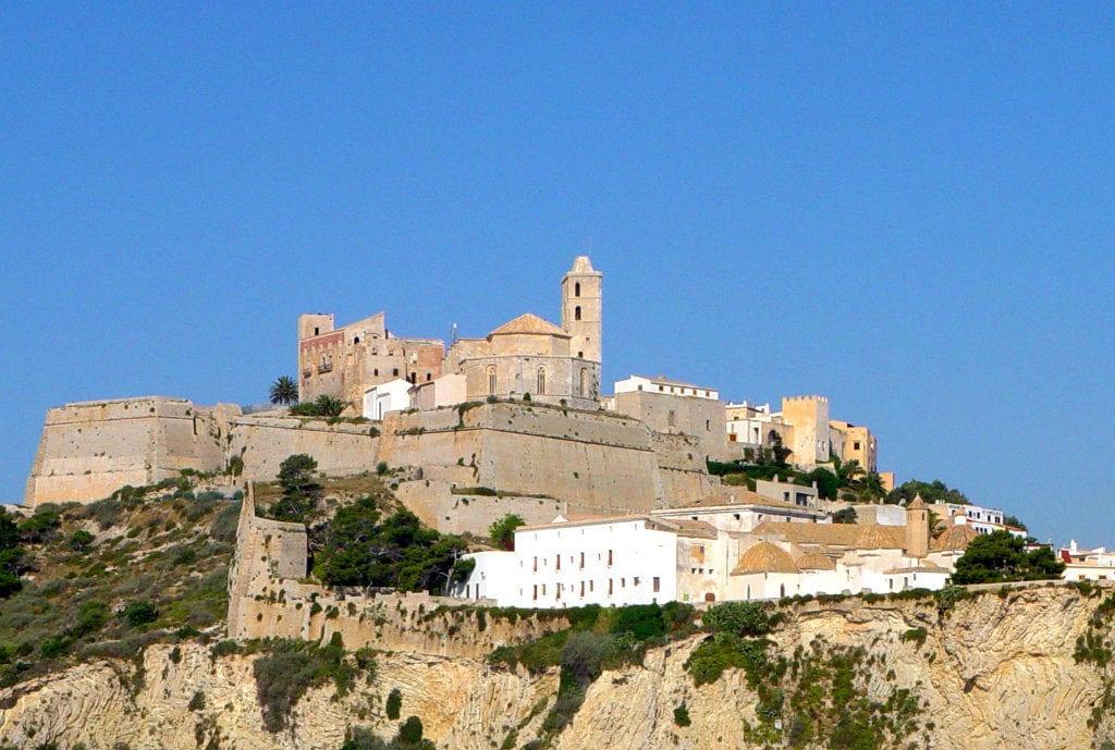 Ibiza in April Dalt Vila