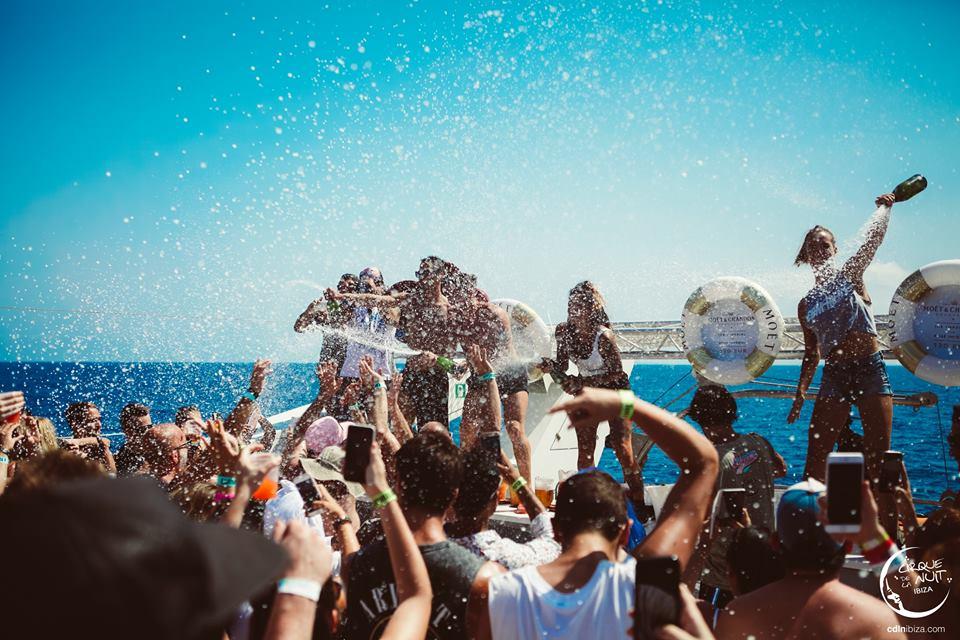Ibiza in April Cirque de la nuit