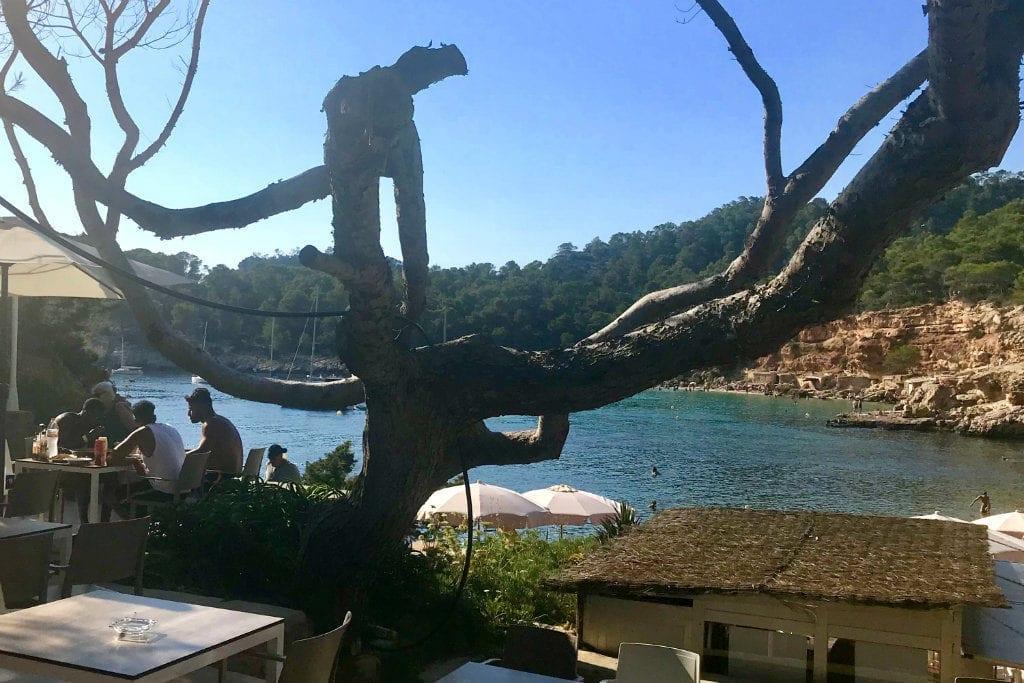 Ibiza in July Cala Salada