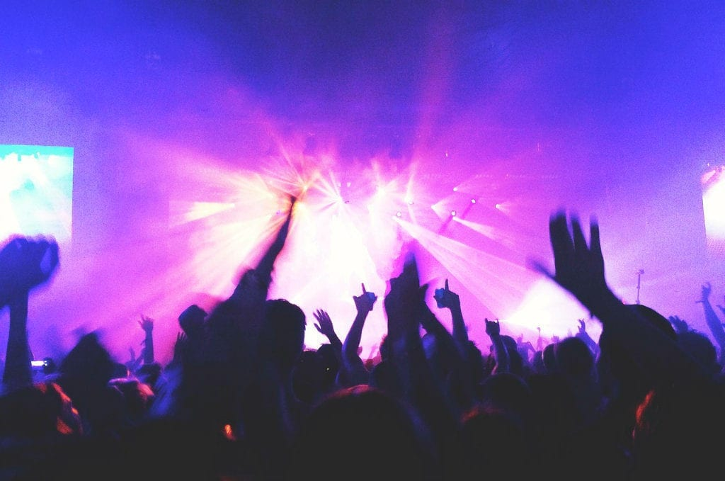 Ibiza in July clubbing